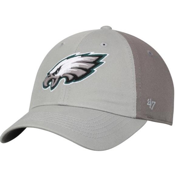 new style 09913 c75d6 Philadelphia Eagles Tonal 47 Clean Up Hat